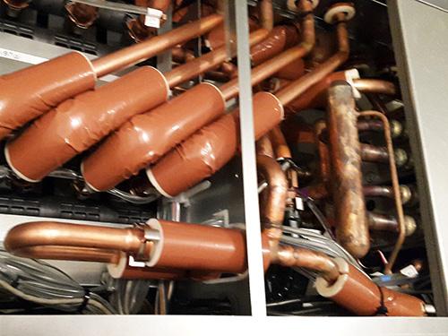 Hybrid Variable Refrigerant Unit