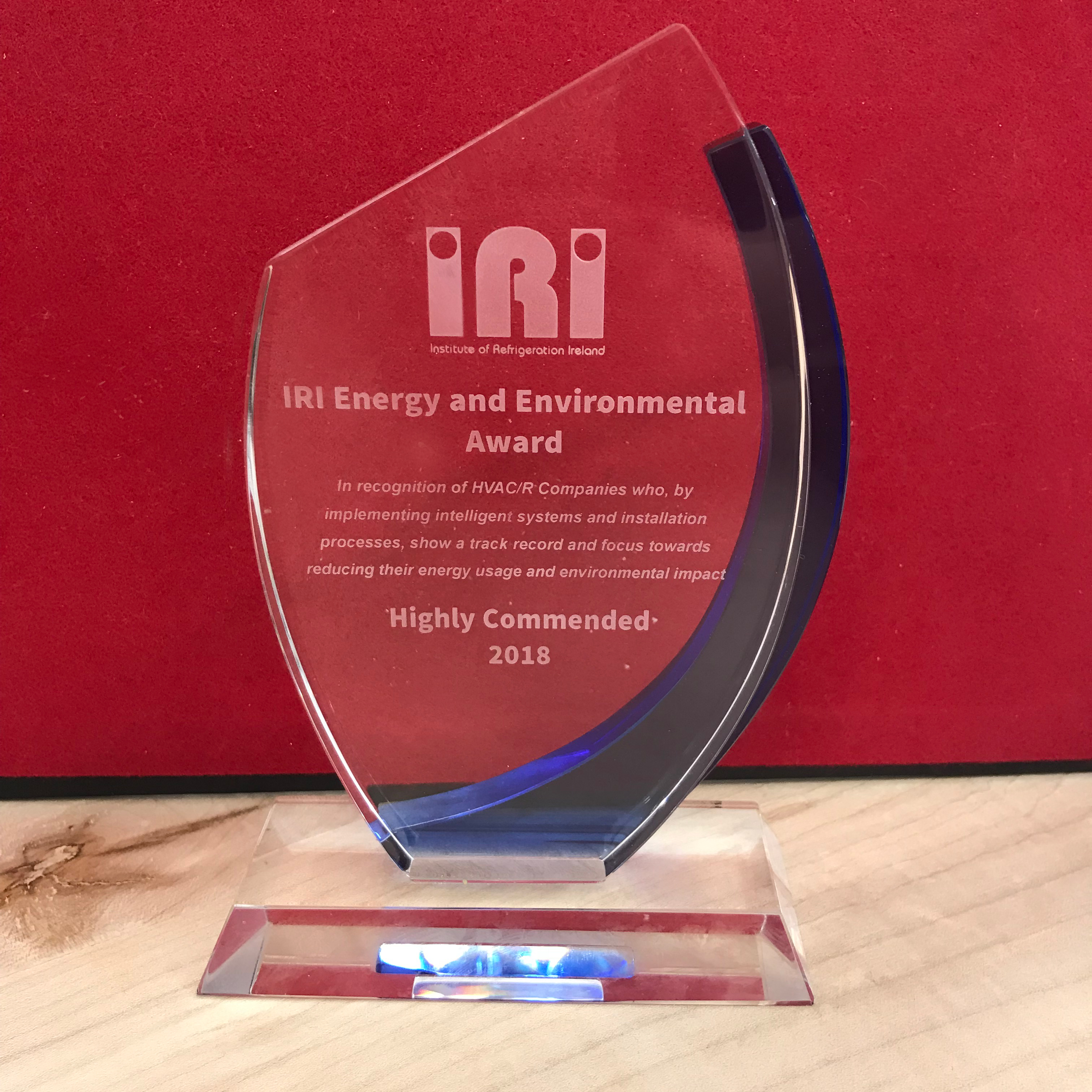 Sirus Group IRI Award for HVRF at The Well